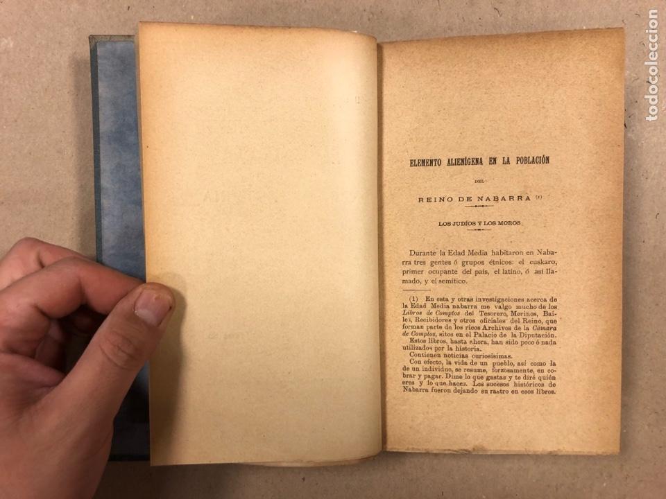 Libros antiguos: EUSKARIANA (PARTE TERCERA) ALGO DE HISTORIA. ARTURO CAMPION. Imp. y Enc. de ANDRÉS P. (1899). - Foto 5 - 281947038