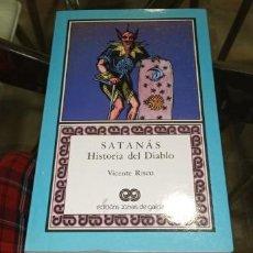 Libri antichi: SATANÁS HISTORIA DEL DIABLO VICENTE RISCO EDICIÓNS XERAIS DE GALICIA. Lote 282977158