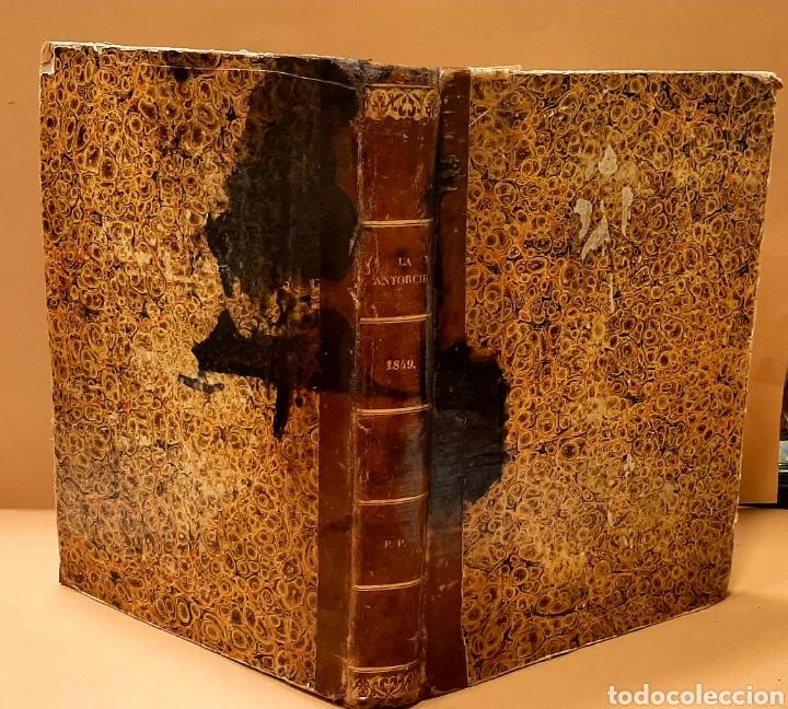 Libros antiguos: M. CUBÍ I SOLER. LA ANTORCHA. SEMANARIO ENCICLOPÉDICO. 1848-1849. DEL 1 AL 64. - Foto 3 - 283164103