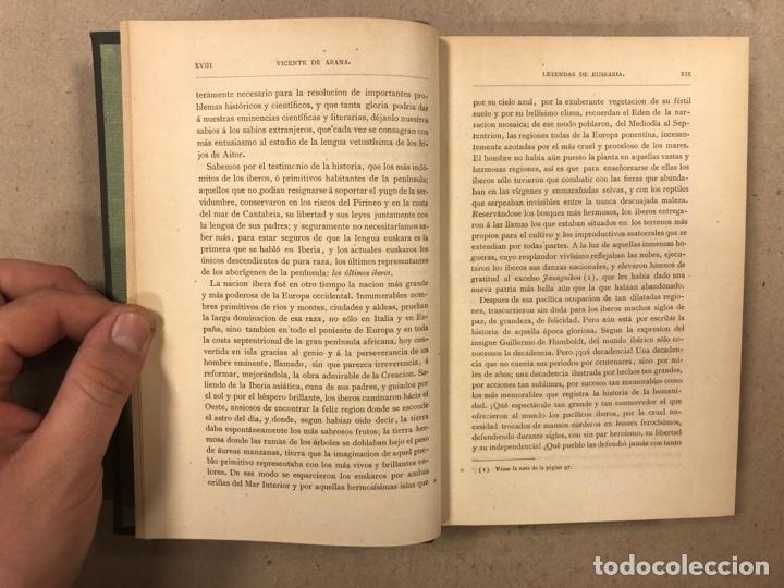 Libros antiguos: LOS ÚLTIMOS IBEROS (LEYENDAS DE EUSKARIA). VICENTE DE ARANA. LIBRERÍA DE FERNANDO FÉ 1882 - Foto 5 - 283239458
