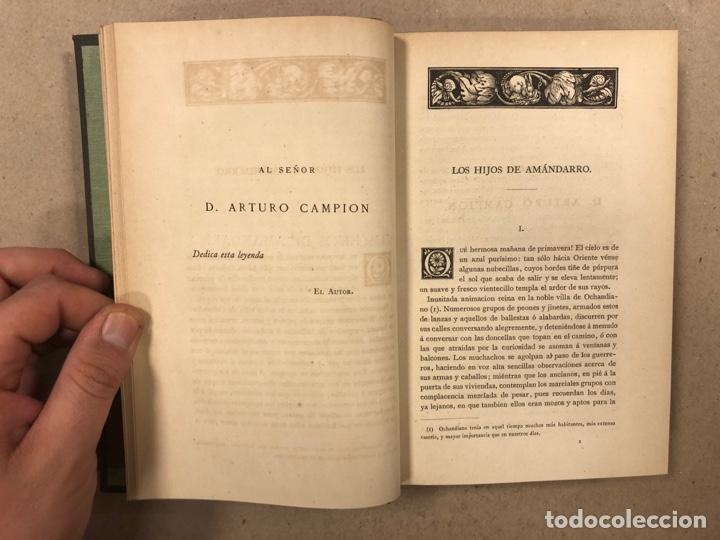 Libros antiguos: LOS ÚLTIMOS IBEROS (LEYENDAS DE EUSKARIA). VICENTE DE ARANA. LIBRERÍA DE FERNANDO FÉ 1882 - Foto 6 - 283239458