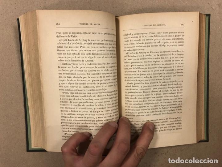 Libros antiguos: LOS ÚLTIMOS IBEROS (LEYENDAS DE EUSKARIA). VICENTE DE ARANA. LIBRERÍA DE FERNANDO FÉ 1882 - Foto 9 - 283239458