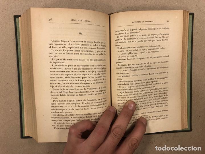 Libros antiguos: LOS ÚLTIMOS IBEROS (LEYENDAS DE EUSKARIA). VICENTE DE ARANA. LIBRERÍA DE FERNANDO FÉ 1882 - Foto 11 - 283239458