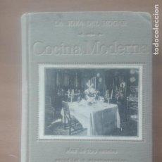 Libros antiguos: RARO 'MANUAL DE COCINA MODERNA. LA JOYA DEL HOGAR' FRANCISCO DELIVA. AÑO 1912 SANZ CALLEJA MADRID. Lote 283699323