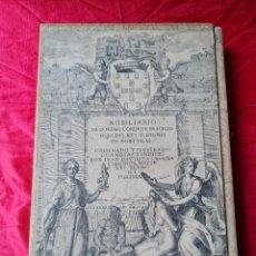 Libros antiguos: NOBILIARIO DE DON PEDRO CONDE DE BARCELOS-JUAN BAUTISTA LABAÑA COMPOSTELA 1974. Lote 283707733
