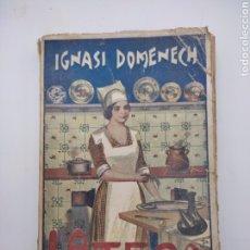 Livres anciens: LA TECA POR IGNASI DOMÈNECH LIBRO RECETAS COCINA. Lote 283733183