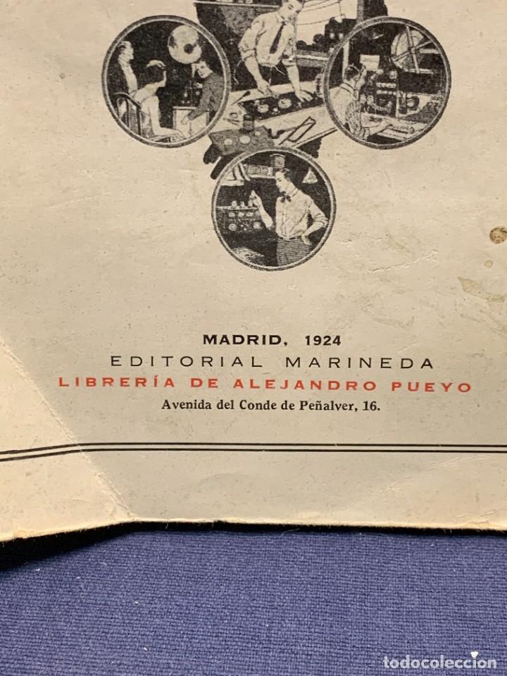 Libros antiguos: LA RADIOTELEFONIA PRACTICA AMADOR RODRIGUEZ GUERRA MADRID 1924 ED MARINEDA 19X13CMS - Foto 5 - 283768408