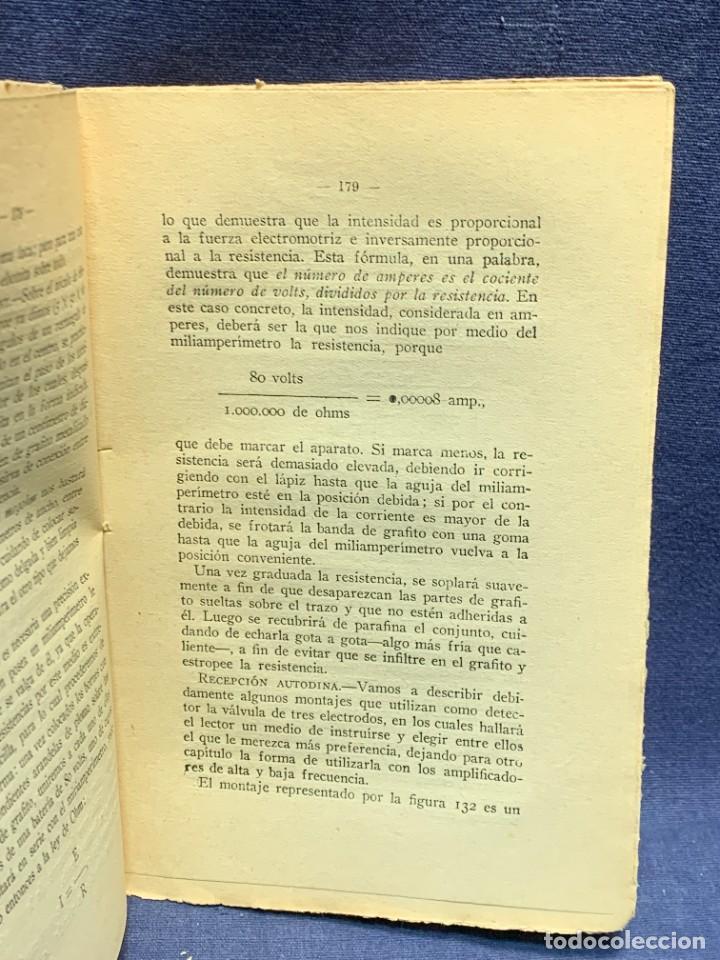 Libros antiguos: LA RADIOTELEFONIA PRACTICA AMADOR RODRIGUEZ GUERRA MADRID 1924 ED MARINEDA 19X13CMS - Foto 11 - 283768408