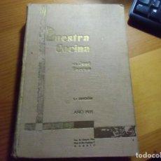 Livres anciens: NUESTRA COCINA/J.SARRAU/1ª EDICION,MADRID 1935.. Lote 283803953