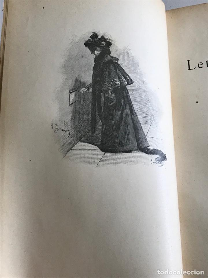 Libros antiguos: Marcel Prevost.Lettres de Femmes.19x12cm.editado en francés - Foto 9 - 283827043