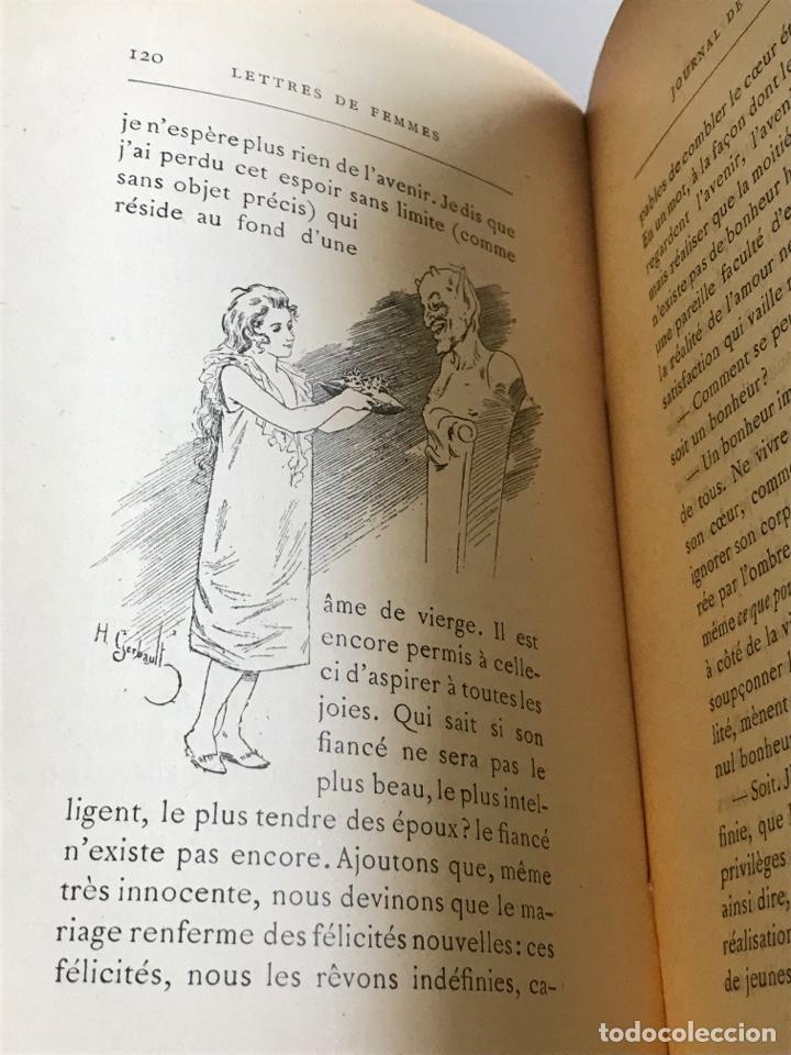 Libros antiguos: Marcel Prevost.Lettres de Femmes.19x12cm.editado en francés - Foto 16 - 283827043