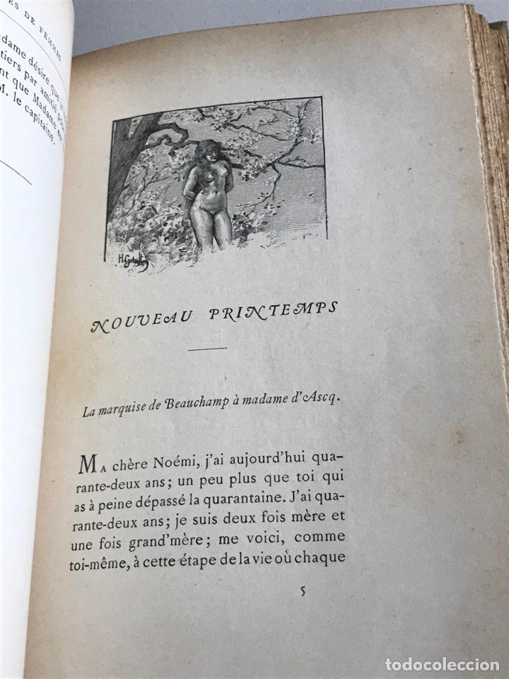 Libros antiguos: Marcel Prevost.Lettres de Femmes.19x12cm.editado en francés - Foto 18 - 283827043