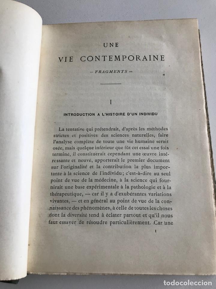 Libros antiguos: Gaston Gaillard.Une vie contemporaine.fragments 1900.19x12cm.editado en francés - Foto 9 - 283827653
