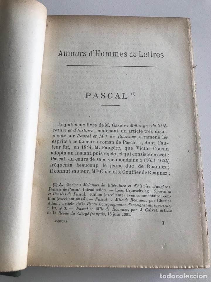 Libros antiguos: Emile Faguet.Amours l'orme du mail.19x12cm.editado en francés - Foto 10 - 283830513