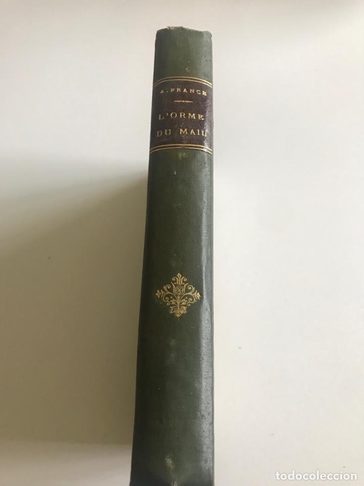 Libros antiguos: Historie contemporaine l'orme du mail.19x12cm.editado en francés - Foto 2 - 283831733