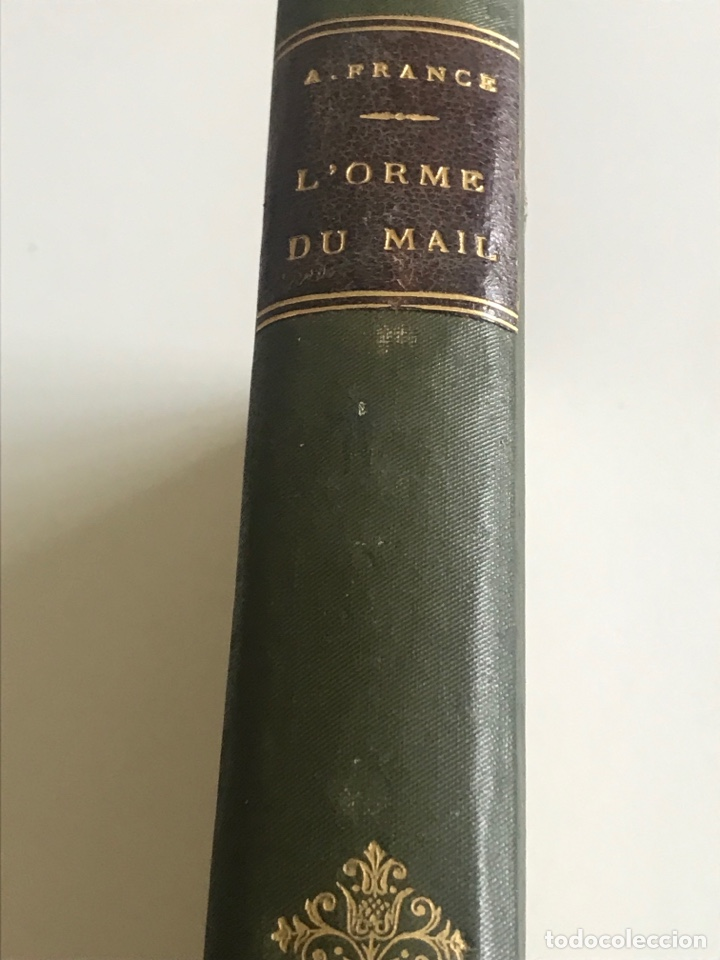 Libros antiguos: Historie contemporaine l'orme du mail.19x12cm.editado en francés - Foto 3 - 283831733