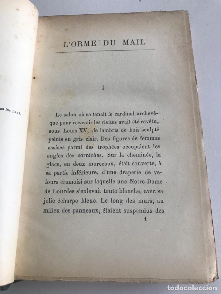 Libros antiguos: Historie contemporaine l'orme du mail.19x12cm.editado en francés - Foto 11 - 283831733