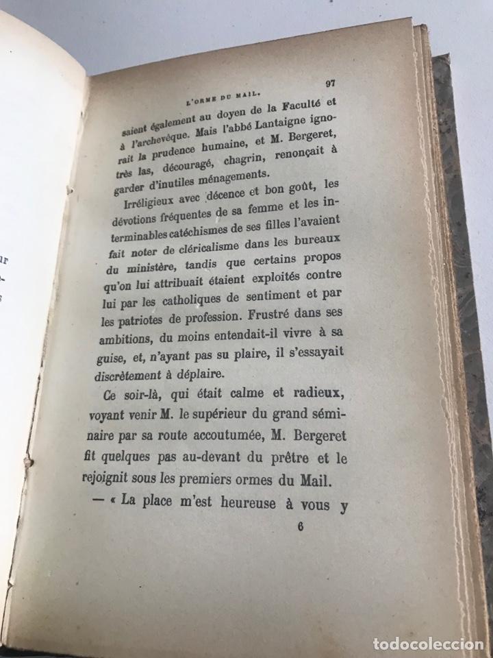 Libros antiguos: Historie contemporaine l'orme du mail.19x12cm.editado en francés - Foto 13 - 283831733