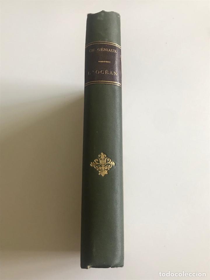 Libros antiguos: Charles Geniaux L'ocean 19x12cm editado en francés - Foto 2 - 283832288
