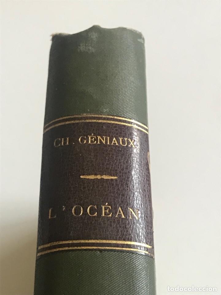 Libros antiguos: Charles Geniaux L'ocean 19x12cm editado en francés - Foto 3 - 283832288