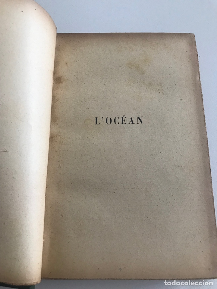 Libros antiguos: Charles Geniaux L'ocean 19x12cm editado en francés - Foto 7 - 283832288