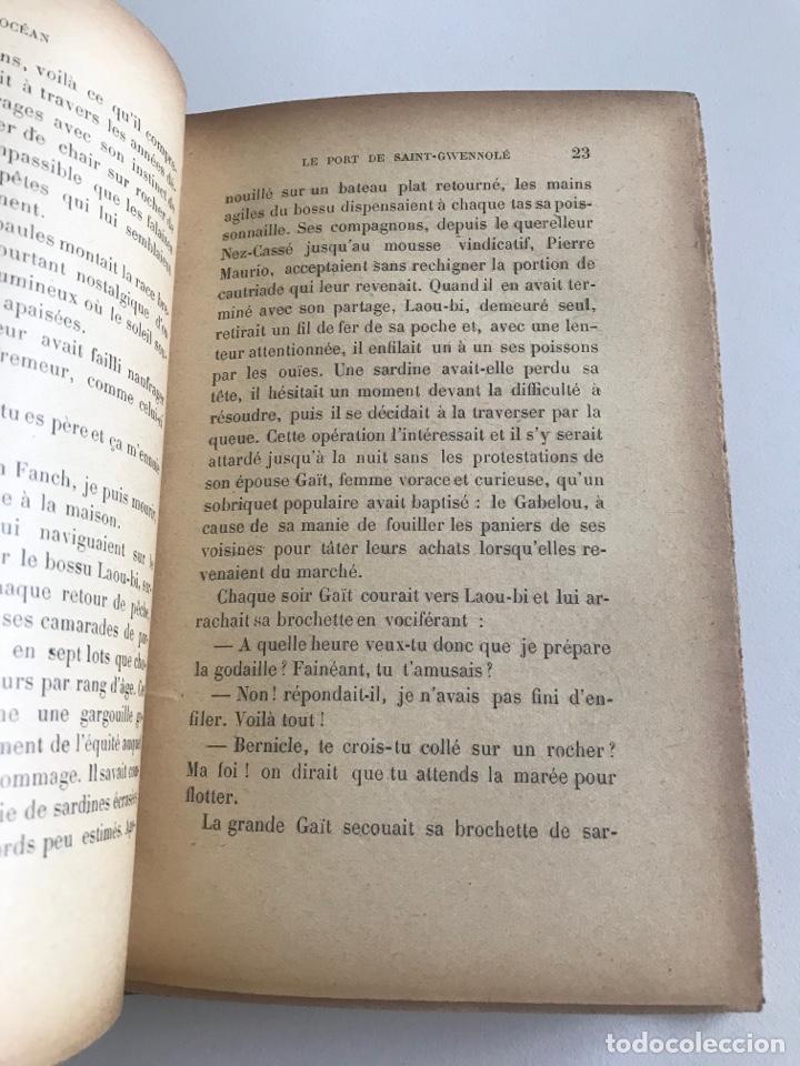 Libros antiguos: Charles Geniaux L'ocean 19x12cm editado en francés - Foto 12 - 283832288