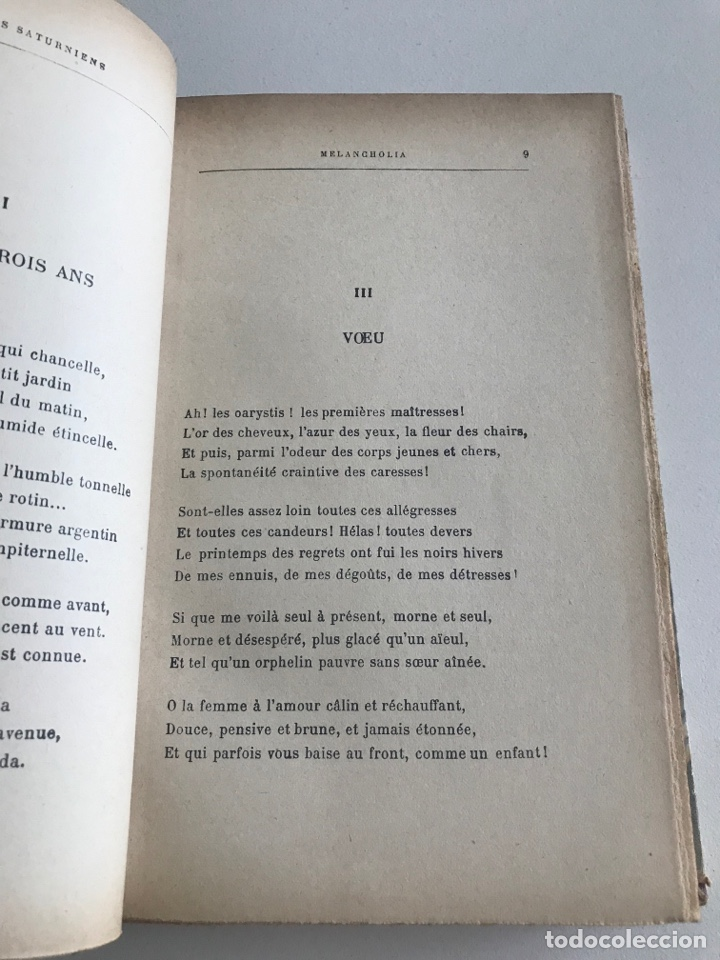 Libros antiguos: O.Verlaine.Choix de Poesies.1912.19x12cm editado en francés - Foto 10 - 283832678