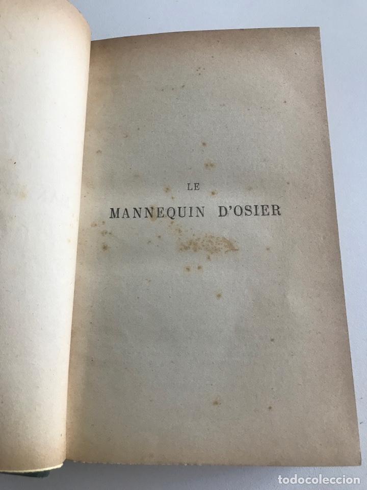 Libros antiguos: A.France.Le mannequin d'osier.19x12cm editado en francés - Foto 5 - 283833033