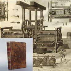 Livres anciens: AÑO 1802 - QUESO - LAMINAS - GRABADOS - CURSO COMPLETO Ó DICCIONARIO DE AGRICULTURA - PODA. Lote 284066438