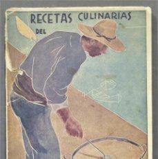 Livres anciens: RECETAS CULINARIAS DEL ARROZ. Lote 284514553