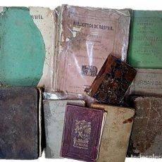Libri antichi: LOTE 10 LIBROS S XIX TEMAS VARIADOS. Lote 284603058