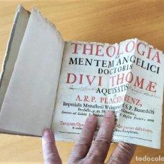 Libros antiguos: LIBRO DEL AÑO 1741 CON DESPLEGABLE A DOS TINTAS. Lote 284625438