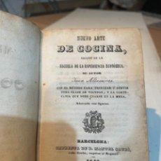 Libros antiguos: GASTRONOMÍA - NUEVO ARTE DE COCINA SACADO DE LA ESCUELA DE LA ESPERENCIA ECONÓMICA SU AUTOR JUAN ALT. Lote 284628878