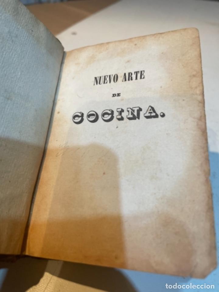 Libros antiguos: GASTRONOMÍA - NUEVO ARTE DE COCINA SACADO DE LA ESCUELA DE LA ESPERENCIA ECONÓMICA SU AUTOR JUAN ALT - Foto 2 - 284628878