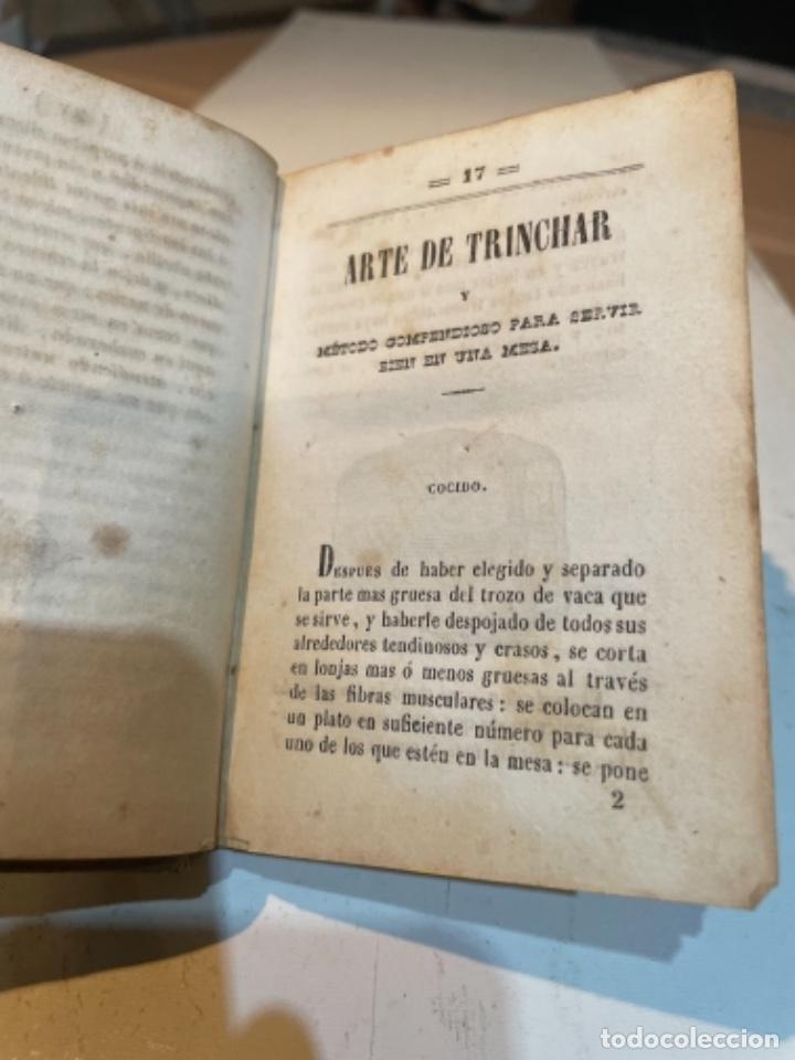 Libros antiguos: GASTRONOMÍA - NUEVO ARTE DE COCINA SACADO DE LA ESCUELA DE LA ESPERENCIA ECONÓMICA SU AUTOR JUAN ALT - Foto 8 - 284628878