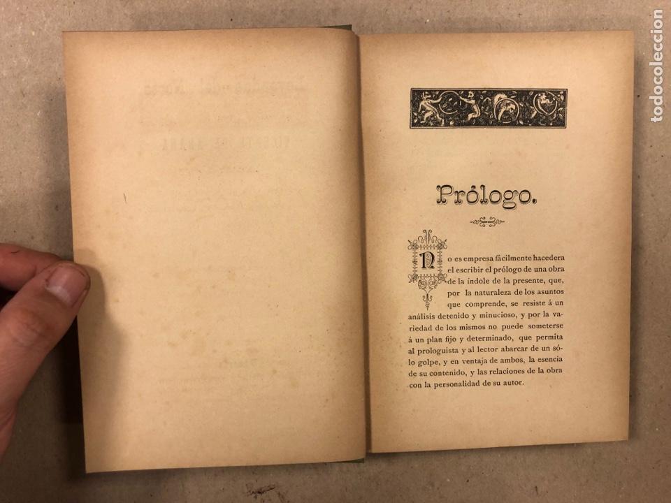 Libros antiguos: LEYENDAS DEL NORTE. VICENTE DE ARANA. IMPRENTA DE LA ILUSTRACIÓN 1890. - Foto 3 - 284660188