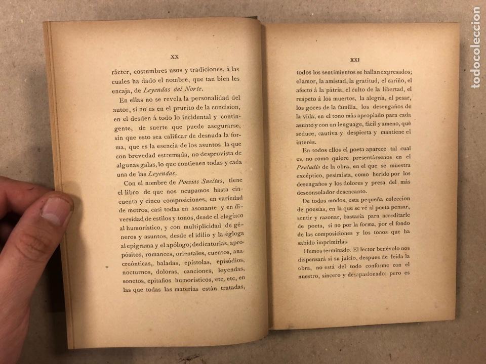 Libros antiguos: LEYENDAS DEL NORTE. VICENTE DE ARANA. IMPRENTA DE LA ILUSTRACIÓN 1890. - Foto 4 - 284660188
