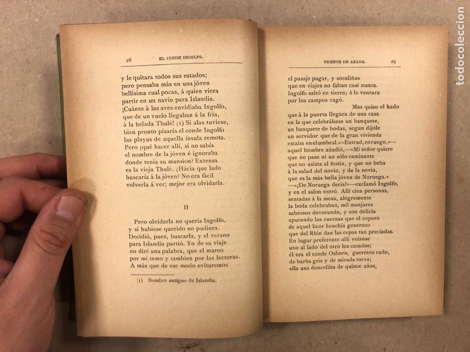 Libros antiguos: LEYENDAS DEL NORTE. VICENTE DE ARANA. IMPRENTA DE LA ILUSTRACIÓN 1890. - Foto 5 - 284660188