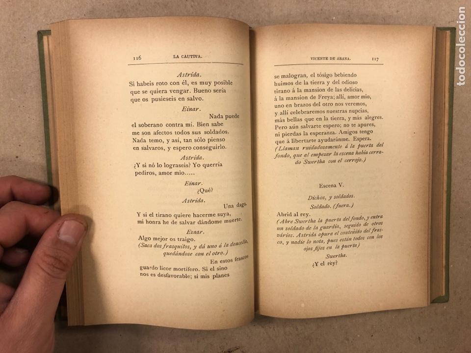 Libros antiguos: LEYENDAS DEL NORTE. VICENTE DE ARANA. IMPRENTA DE LA ILUSTRACIÓN 1890. - Foto 6 - 284660188