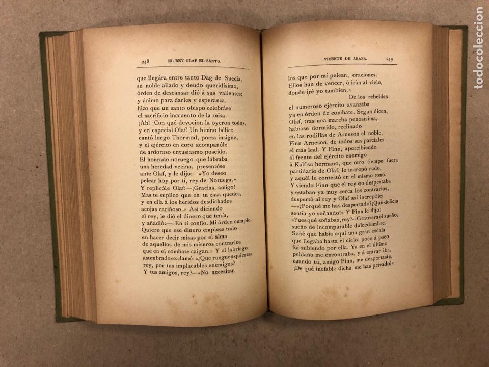 Libros antiguos: LEYENDAS DEL NORTE. VICENTE DE ARANA. IMPRENTA DE LA ILUSTRACIÓN 1890. - Foto 8 - 284660188