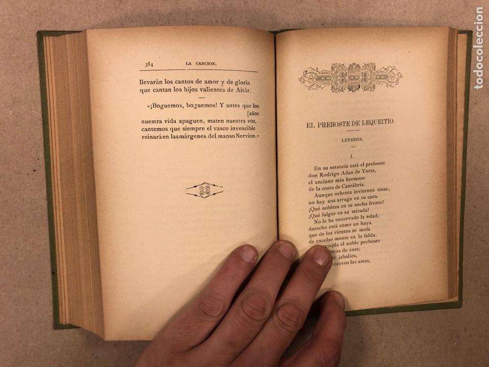 Libros antiguos: LEYENDAS DEL NORTE. VICENTE DE ARANA. IMPRENTA DE LA ILUSTRACIÓN 1890. - Foto 10 - 284660188