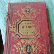 Libros antiguos: LIBRO ANTIGUO EN FRANCÉS. Lote 284726878