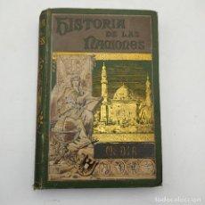 Libros antiguos: HISTORIA DE LAS NACIONES.MEDIA. ZENAIDA A.RAGOZIN. EL PROGRESO EDITORIAL. 1892. 437 PAGS.. Lote 284803588