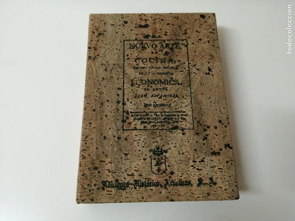 NUEVO ARTE DE COCINA JUAN ALTAMIRAS FACSIMIL 1858 FACSIMIL CORCHO (Libros Antiguos, Raros y Curiosos - Cocina y Gastronomía)