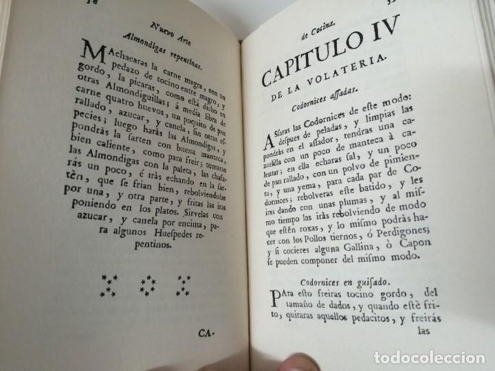Libros antiguos: NUEVO ARTE DE COCINA JUAN ALTAMIRAS FACSIMIL 1858 FACSIMIL CORCHO - Foto 6 - 285151053