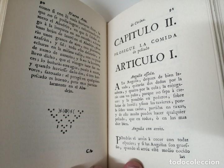Libros antiguos: NUEVO ARTE DE COCINA JUAN ALTAMIRAS FACSIMIL 1858 FACSIMIL CORCHO - Foto 7 - 285151053