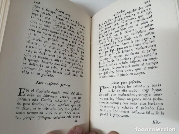 Libros antiguos: NUEVO ARTE DE COCINA JUAN ALTAMIRAS FACSIMIL 1858 FACSIMIL CORCHO - Foto 8 - 285151053