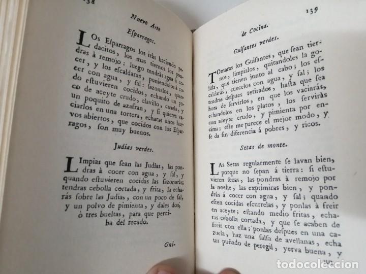 Libros antiguos: NUEVO ARTE DE COCINA JUAN ALTAMIRAS FACSIMIL 1858 FACSIMIL CORCHO - Foto 9 - 285151053