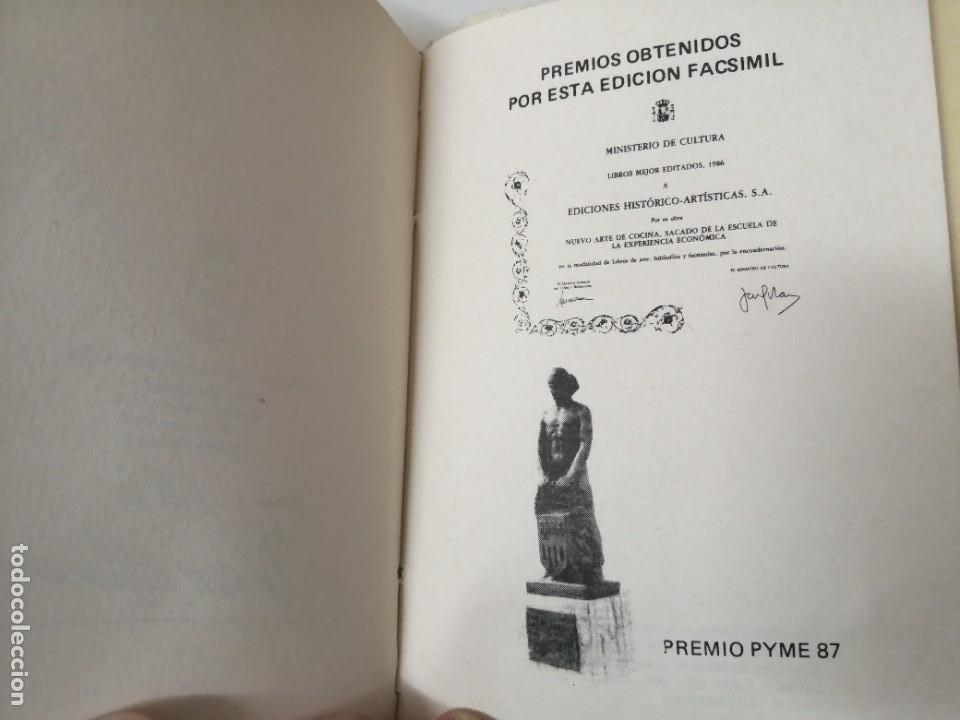 Libros antiguos: NUEVO ARTE DE COCINA JUAN ALTAMIRAS FACSIMIL 1858 FACSIMIL CORCHO - Foto 10 - 285151053