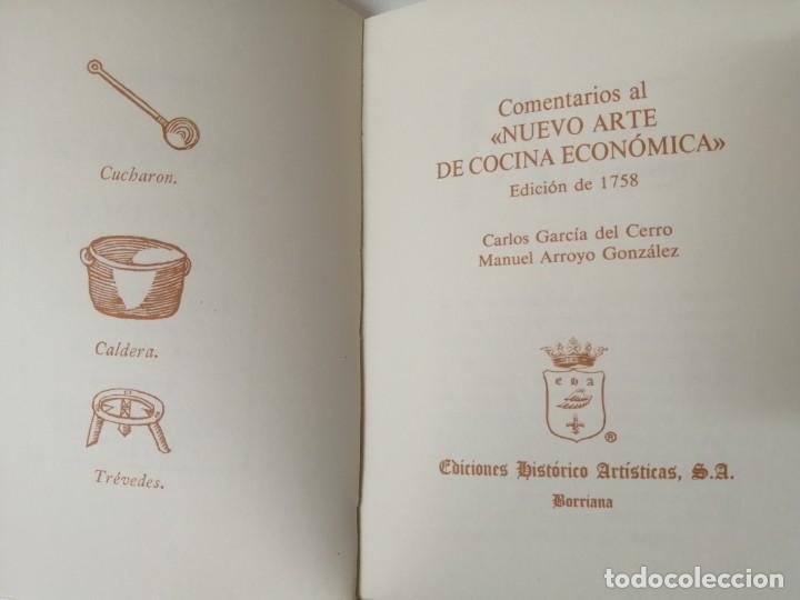 Libros antiguos: NUEVO ARTE DE COCINA JUAN ALTAMIRAS FACSIMIL 1858 FACSIMIL CORCHO - Foto 13 - 285151053
